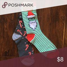 Christmas Sock Set Cute Christmas sock set. Fits ladies shoe size 4-10. 🎄 Accessories Hosiery & Socks