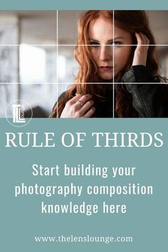 Why you need to know the rule of thirds, and how easy it is The first rule most photographers learn when they get into photography composition. Learn the rule of thirds and start taking creative photos. Photography Composition Rules, Portrait Photography Tips, Landscape Photography Tips, Photo Composition, Photography Basics, Photography Tips For Beginners, Photography Lessons, Photography Tutorials, Photography Business
