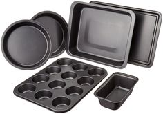 AmazonBasics 6-Piece Bakeware Set *** Check this awesome product by going to the link at the image.