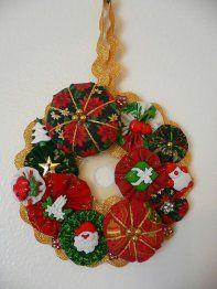 Lovely YoYo wreath