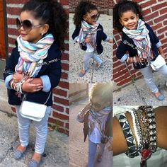not sure about all the bangles i mean it is a child...but the rest is cute