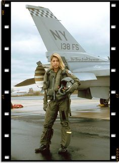 major jackie parker was one of the first female fighter pilots ...