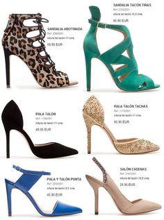 Zapatos Zara primavera verano 2013