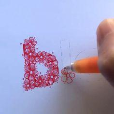 ❤️❤️20% OFF ON ALL YOUR ORDERS❤️ ❤️Click the link to visit www.foundcute.com for more doodle gel pens, brush pens, Sakura pigma micron needle pen, fineliner etc. Video from @madebytherat #bulletjournal #journaling #bujolover #doodle #brushpen #fineliner #needlepen #lettering #handwriting #calligraphy Gel Pen Art, Gel Pens, Bullet Journal Lettering Ideas, Bullet Journal Ideas Pages, Watercolor Flowers Tutorial, Pigma Micron, Watercolor Art Lessons, Hand Lettering Alphabet, Creative Lettering