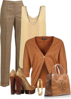 """""""neutral"""" by emhodges01 ❤ liked on Polyvore"""