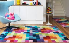 Pixel rug...