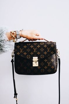 design Handbags Must Have - A Mix of Min shares her top ten favorite  purchases of 2017 which include Louis Vuitton Pochette Metis Crossbody 750d4388a181b