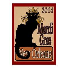 chat noir mardi gras