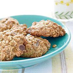 Banana-Oatmeal Chocolate Chip Cookies - 100 Healthy Cookies - Cooking Light