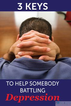 Helping someone with depression is part of doing the works of Jesus. He came to heal the brokenhearted.