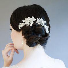 Lily Bella Annastasia Bridal Comb is just £85.00   Crystal Bridal Accessories - www.crystalbridalaccessories.co.uk