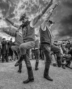 Zeybek dancer by Halit Dokuzoğuz. #blackandwhite #schwarzweiss #noiretblanc #siyahbeyaz #monochrome #turkey #anatolia #izmir #ege #egeninincisi #zeybek #efe #dance #art #music #dancer #dancing #folkdance #folklore #folkloric #traditional #sky #clouds