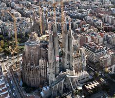 Antonio Gaudi La Sagrada Família