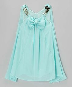 Love the color, fabric and of course... the bow