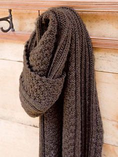 Ravelry: Beagle Scarf pattern by Norah Gaughan
