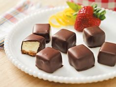 Chocolate-Covered Cheesecake Squares   Decadent Diabetic Desserts   Reader's Digest