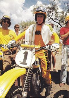 My favorite pics of the Hurricane, Bob Hannah - Moto-Related - Motocross Forums / Message Boards - Vital MX Motocross Girls, Motocross Pants, Motocross Riders, Vintage Motocross, Vintage Bikes, Vintage Motorcycles, Custom Motorcycles, Dirt Track Racing, Entertainment