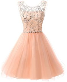 FNKS Women s Straps Lace Bodice Short Prom Gown Homecoming Party Dress at  Amazon Women s Clothing store  94b4a9a26774