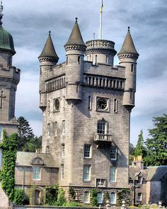 Balmoral castle tower.  Hmm... not sure about this, but possible.
