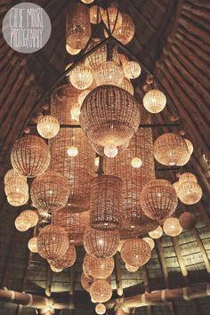GORGEOUS Hanging Lanterns / Chloe Moore Photography // The Blog: Weddings