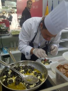 Snails dish at Sial 2012