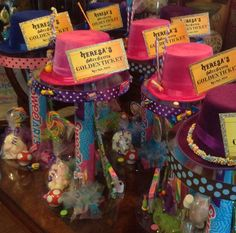 Willy Wonka Centerpieces