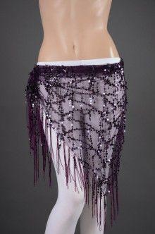 873a8502fe38 Pour l interlude - ceinture, foulard de danse orientale mauve - boutique Perle  Orientale - 14,70€