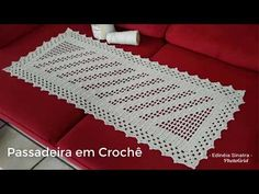 Crochet Diagram, Filet Crochet, Crochet Doilies, Crochet Table Mat, Crochet Basics, Crochet Home, Diy And Crafts, Tapestry, Make It Yourself