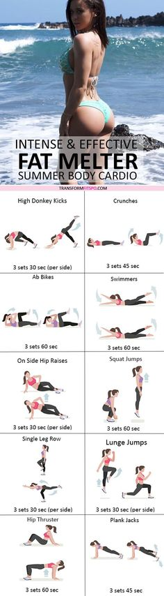 #womensworkout #workout #femalefitness Repin and share if this workout gave you a summer body! Click the pin for the full workout.