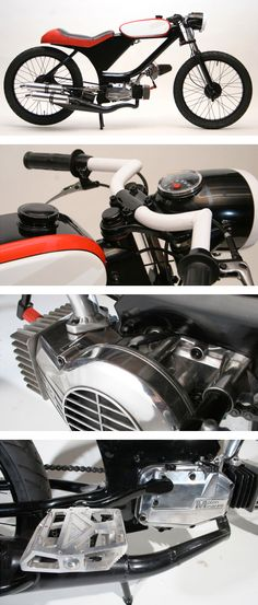 Moto-​Matic Mopeds / Garelli... i love this moped...