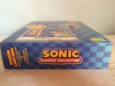 Sonic Classic Collection lateral box.