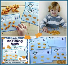 Penguin Math Activit