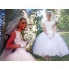 Celebrity Wedding Dress - Audrey Hepburn