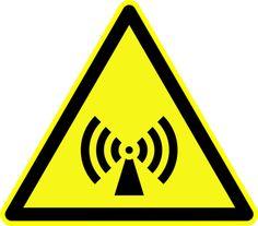 Radiation Warning Symbols: Non-Ionizing Radiation Symbol