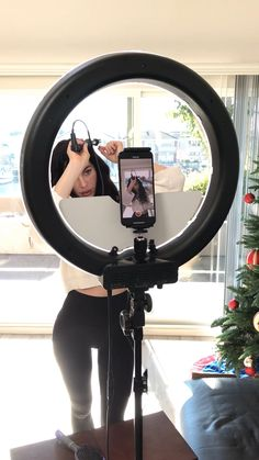 ❤️ 18 Ring Light Kit With Mirror and Phone Adapter! Studio Setup, Studio Lighting, Studio Room, Studio Ring Light, Youtube Setup, Youtube Hacks, Led Ring Light, Ring Light Mirror, Mirror With Lights