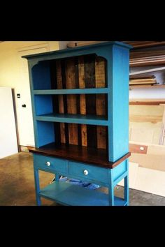 Pin by leslie hickman ginther on diy furniture pinterest count diy hutch knock off wood cut a book shelf in half and set on solutioingenieria Gallery