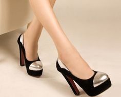 Fashion shallow mouth high heel pumps    $25.26