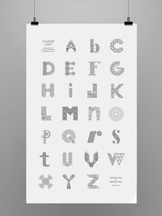 An Intricate Hand-Lettered Alphabet That Is Inspired By 26 Cities In The World - DesignTAXI.com