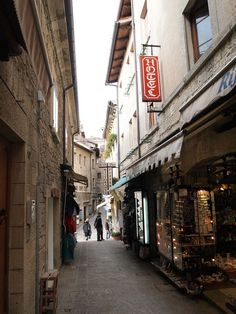Street Scene, San Marino by Joe Watterson on Beautiful Places To Travel, Amazing Places, City Of San Marino, People Around The World, Around The Worlds, Saint Marin, Republic Of San Marino, The Old Republic, Southern Europe