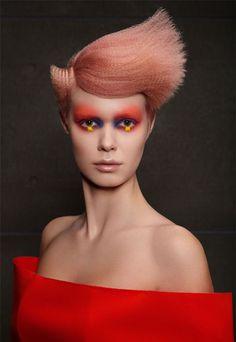 Arcade by Mazella & Palmer - Professional Hairdresser Magazine Creative Hairstyles, Trendy Hairstyles, Victorian Era Hairstyles, Pelo Editorial, Avant Garde Hair, Peach Hair, Foto Fashion, Hair Creations, French Braids