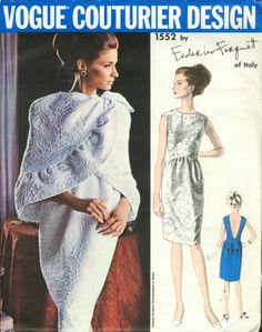 Vogue Couturier Design Federico Forquet 1960s by EleanorMeriwether