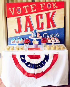 Magnolia C's Birthday / - Vote for the Little Man! Jack's Birthday at Catch My Party Boy First Birthday, Man Birthday, First Birthday Parties, Birthday Party Themes, First Birthdays, 11th Birthday, Birthday Ideas, Patriotic Party, Patriotic Crafts