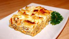 Darált húsos rakott tészta recept Penne, Pasta, Spanakopita, Lasagna, Quiche, Food And Drink, Yummy Food, Healthy Recipes, Cooking