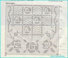 centro rose filet uncinetto   Hobby lavori femminili - ricamo - uncinetto - maglia