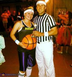 Pregnancy Halloween Costume. Another fun sports pick, only this one dresses up your partner as a ref, making…