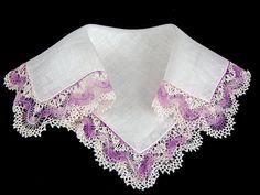 Vintage Irish Linen Crochet Lace Bridal by littlebitvintage2, $8.99