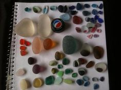 What can you find in one day at the beach? See dozens of photos of the sea glass found in one day at various beaches in the world, submitted by dozens of sea glass fanatics.