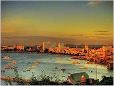 Pattaya Against Sunset Bangkok, Thai Travel, Destinations, Pattaya Thailand, Hilarious Stuff, White Sand Beach, See It, Amazing Places, Travel Around