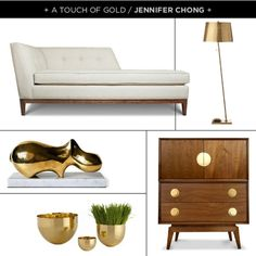 A room with touches of gold#Repin By:Pinterest++ for iPad#
