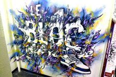 Ikano grafik alias kanos - street art paris 19 squat le bloc - aout 2013